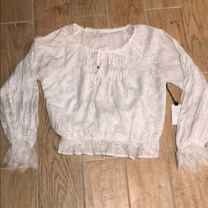 ASTR the label peasant blouse ⭐️NWT⭐️